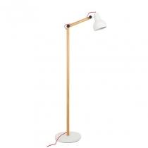 Study Floor lamp valge
