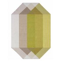 Diamond 170x220 pink-yellow