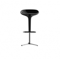 Square stool white