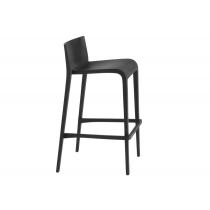 Nassau stool black