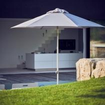 Elba parasol light grey
